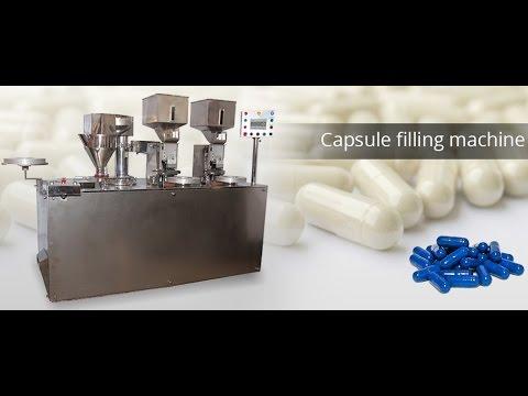 KI-SCF Semi automatic Capsule Filling Machine