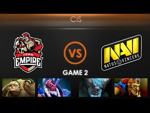 Team Empire vs Natus Vincere Game 2 - Kiev Major CIS Qualifier: Playoffs -@GarethCasts @MerliniDota