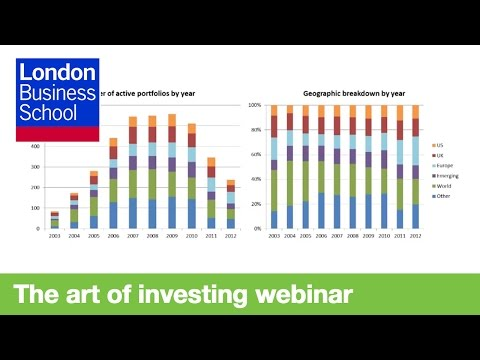 Webinar: The art of Investing and Manager Selection | London
