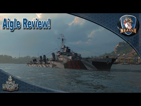 World of Warships: Aigle Review, T6 DD threat!
