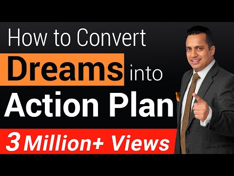 How To Convert Dreams Into Action Plan | Motivational Video For Students | Dr Vivek Bindra