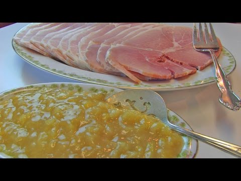 Betty's Baked Country Ham With Brown Sugar-Pineapple Sauce