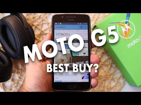 Recensione MOTO G5: un BEST BUY a meno di 160 euro