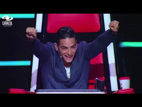 Matthew, Catalina y Manuela cantaron 'Happy' de  Pharrell Williams – LVK Colombia – Batallas – T1