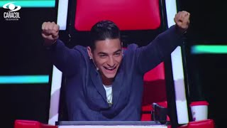 Matthew, Catalina y Manuela cantaron 'Happy' de  Pharrell Williams – LVK Colombia – Batallas – T1