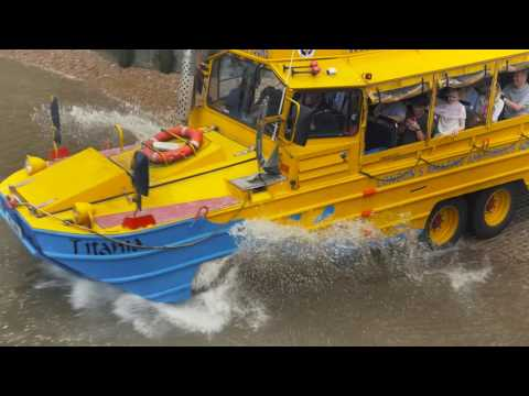 London Duck Tours - Amazing Amphibious London Tours