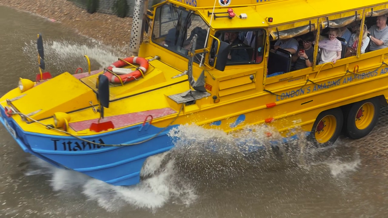 London Duck Tours | Exciting Amphibious Tours of London