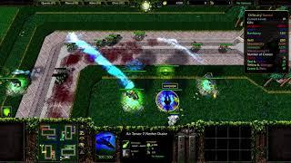 Warcraft 3 - Green Circle TD 2VS2: EPIC GAME!