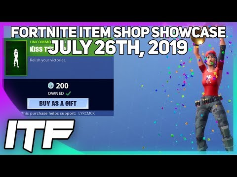 Fortnite Item Shop *NEW* KISS THE CUP EMOTE! [July 26th, 2019] (Fortnite Battle Royale)