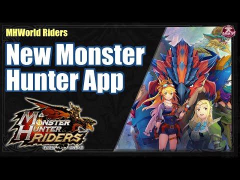 Monster Hunter Riders Announced