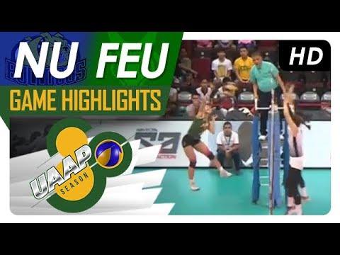 UAAP 80 WV: NU vs. FEU | Game Highlights | April 15, 2018