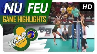 UAAP 80 WV: NU vs. FEU | Game Highlights | April 15, 2018