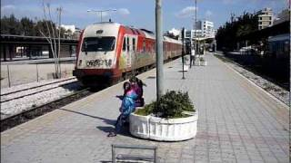 AEG 520 diesel multiple units at Athens station (27/03/11)