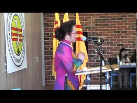 Bà Võ Đại Tôn Tâm Tình Với Đồng Hương Tại Perth