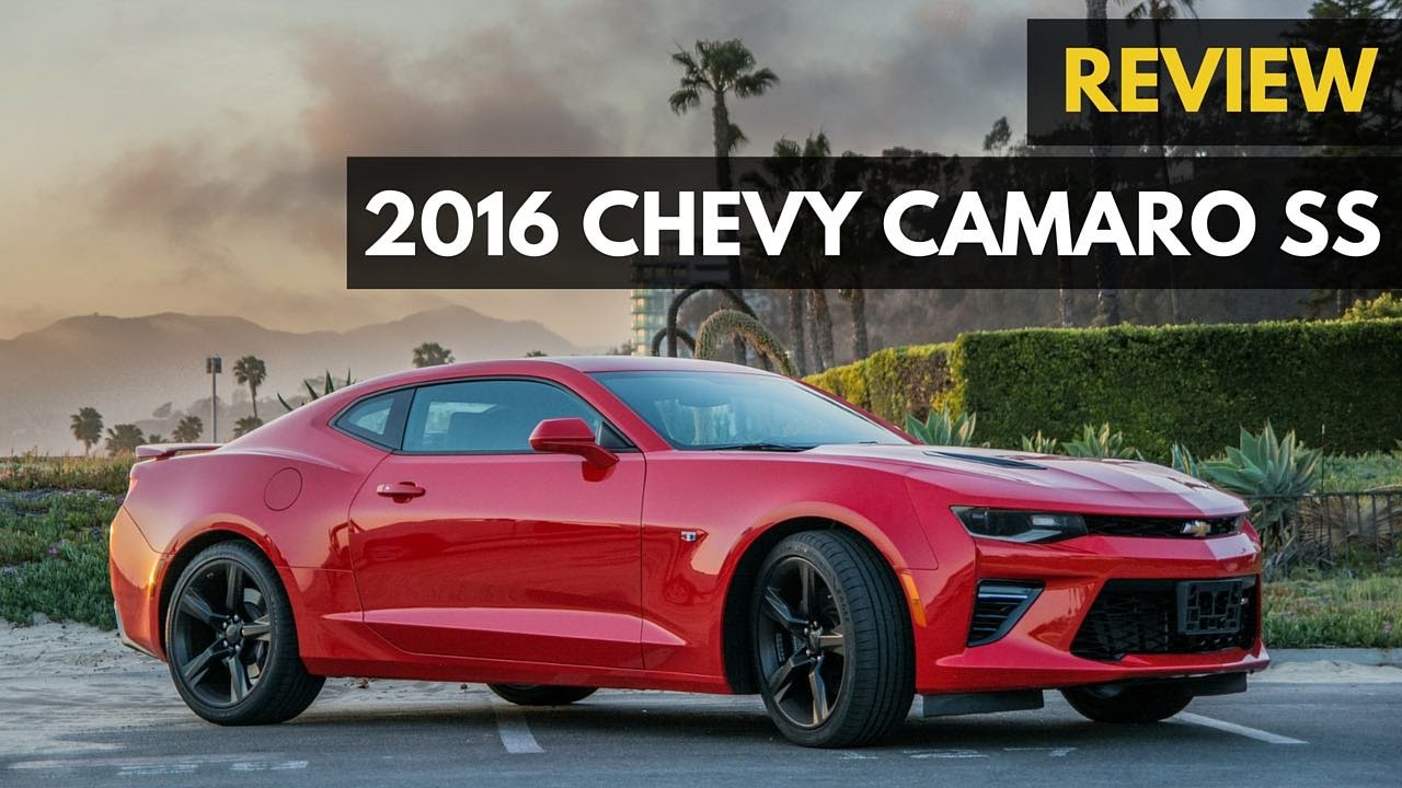 Chevy Camaro Ss V8 455hp 48 500 Review 2016 Gadget