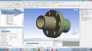 CADFEM Tutorial No.4 - Performing Calculations for a Bolted Assembly using ANSYS® Workbench™