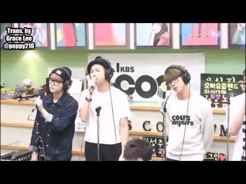 [ENG SUB] 150522 BTS 방탄소년단 GAYO PLAZA KBS COOL FM (1/4)
