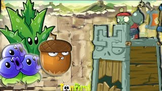 Plants Vs Zombies All Stars:Plants vs Great Wall Zombies Siege Workshop Part 9