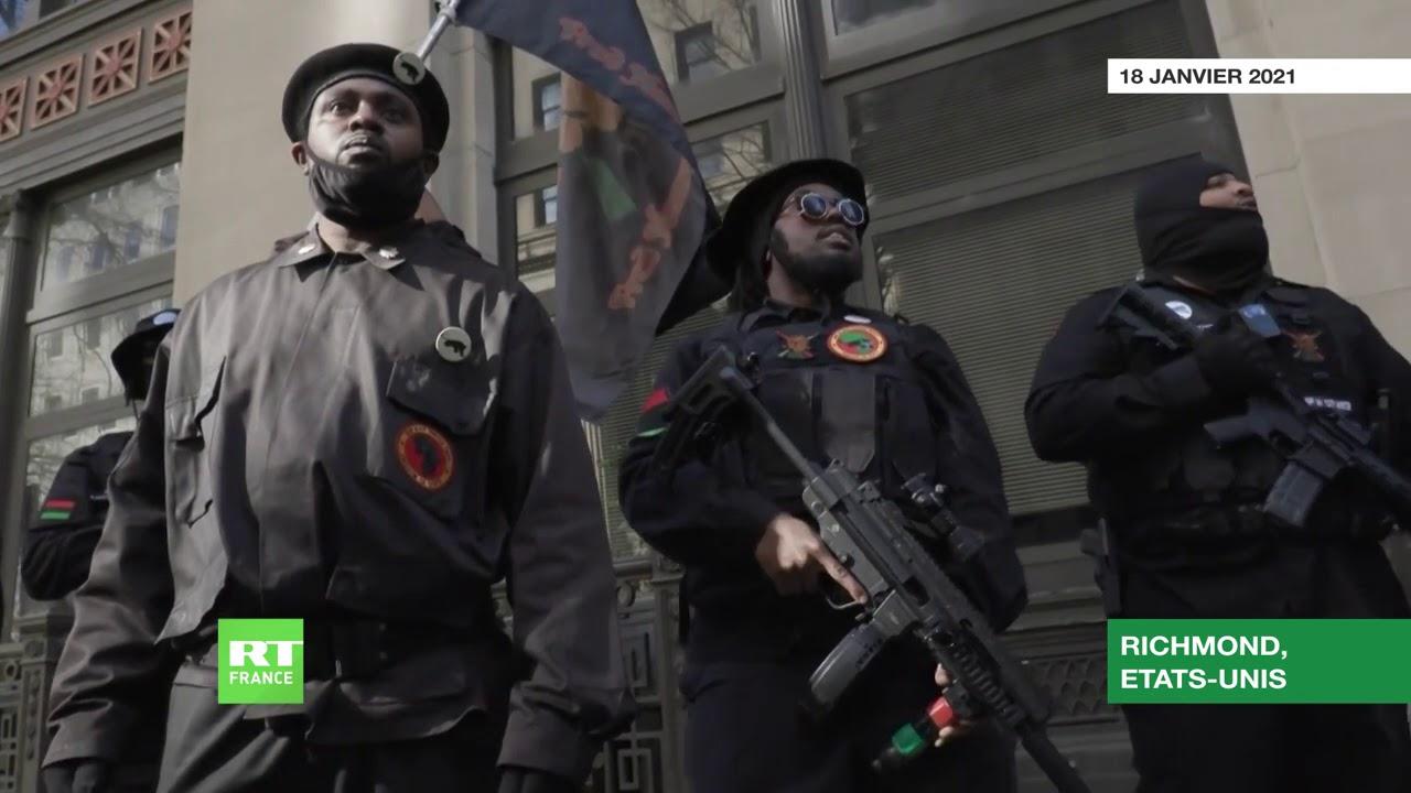 USA : manifestation «pro-armes» devant le Capitole de Virginie