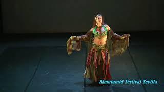 Nabia. Danza Harem. Muestra de Danza Almutamid Festival Sevilla rea...