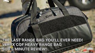 Vertx Cof Heavy Range Bag Hth//gl Blk