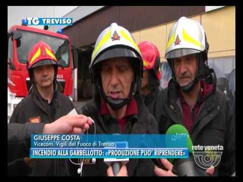 Tg treviso 04 04 2017 incendio alla garbellotto - Produzione mobilifici treviso ...