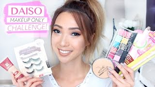 DAISO Makeup Only Challenge!