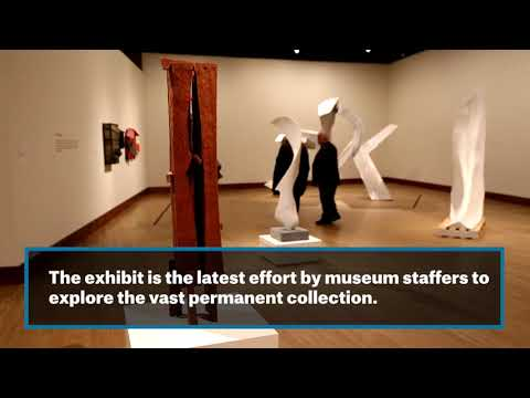 Off the Wall exhibit features sculptures from museum's collection