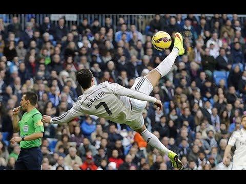 Cristiano Ronaldo - Crazy Bicycle Kicks Show HD (2003-2015)