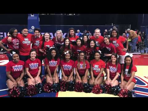 UIC CHEER TRYOUTS 2017-18