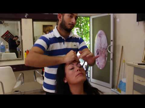 ASMR Turkish Barber Head,Face and Body Massage 60