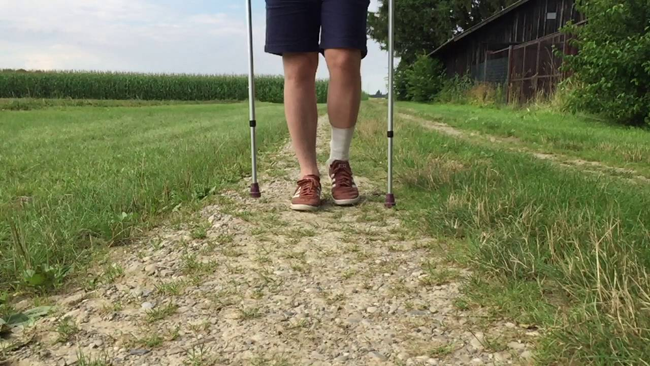 Krücken ohne laufen vacoped mit Laufen mit