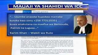 Kifo Cha Shahidi Wa ICC