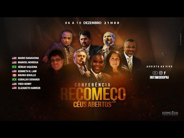 Conferência Recomeço - Pr. Mario Barahona (EUA) - Live 08/12