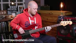 'Learn This Michael League Lick' - Quick Lick /// Scott's Bass Lessons