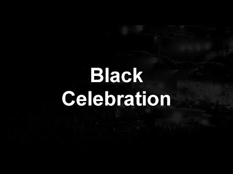 Depeche Mode - Black Celebration ( high quality + lyrics)