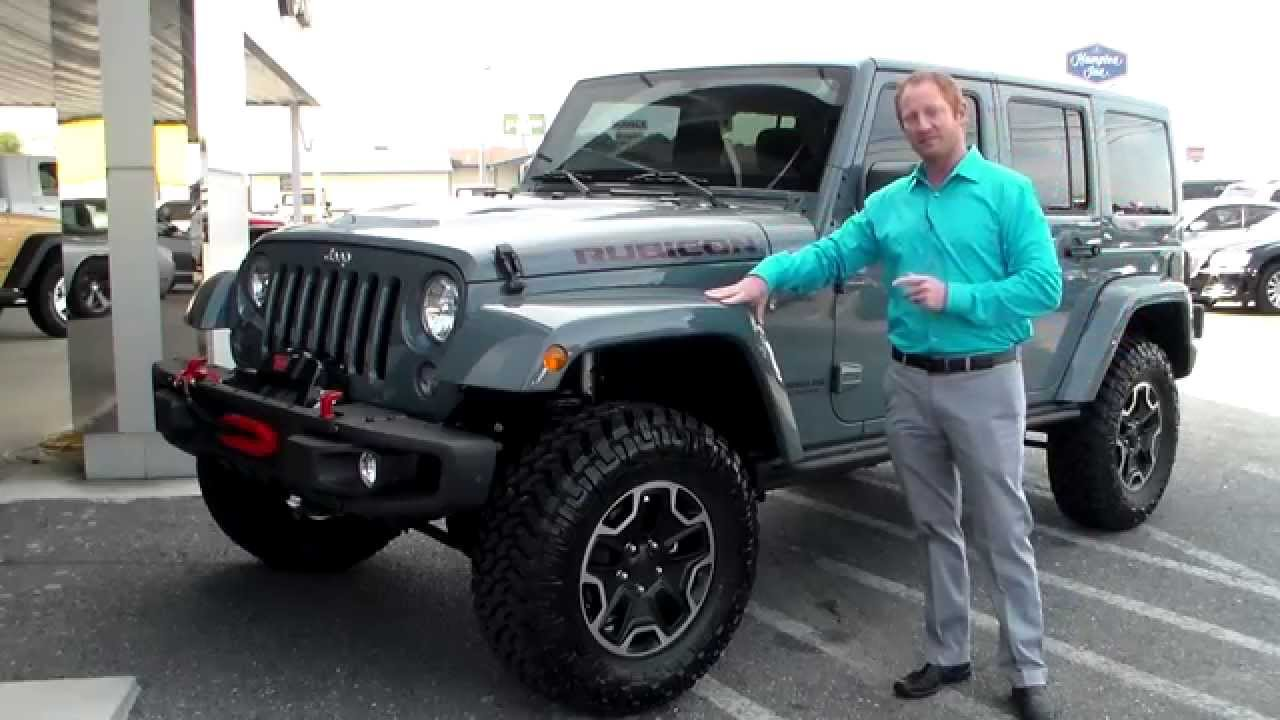 2014 Jeep Rubicon X Package - YouTube