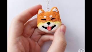 Shiba Inu From Polymer Clay | DIY | Шиба Ину Из Полимерной Глины