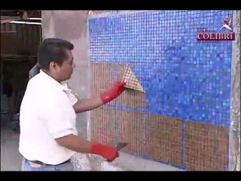 Instalacion Mosaico Veneciano Metodo tradicional
