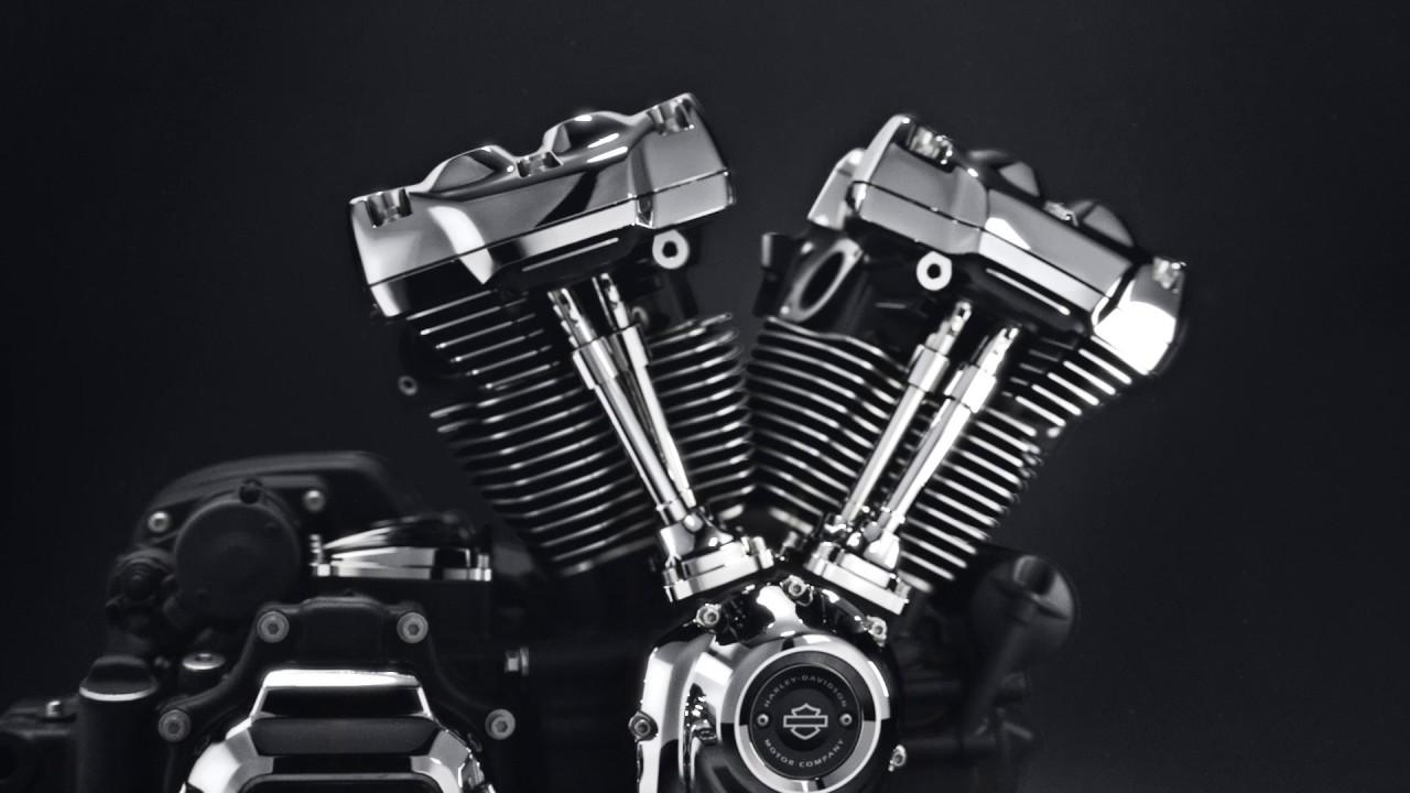 H-d Heritage In Milwaukee 8 Engine