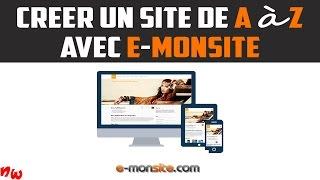 [Tuto] Créer un site de A à Z avec E-monsite ! | Fr