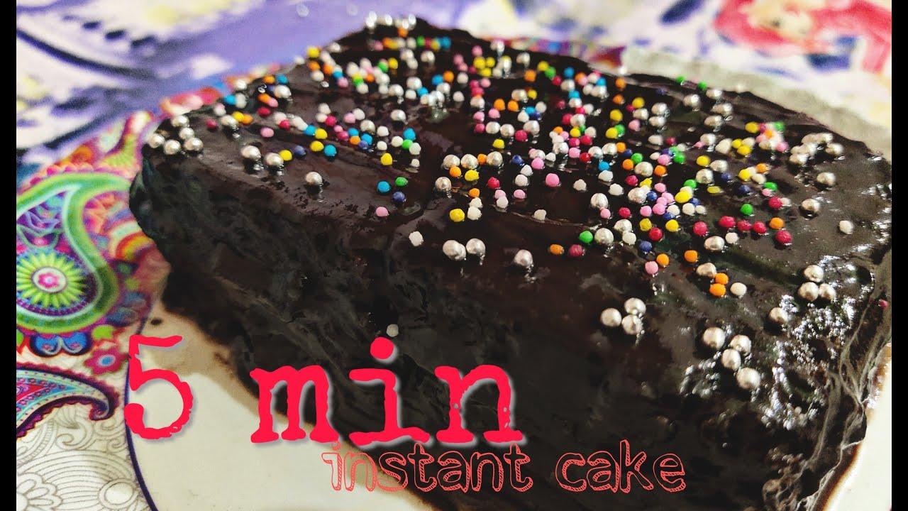 Download 5 min Instant chocolate cake recipe   birthday cake  mansi gupta