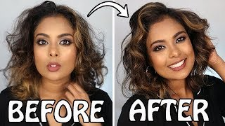 How To Curl Short Hair  + All About My Current LOB Hair - MrJovitaGeorge