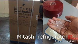Mitashi refrigerator 87 litters