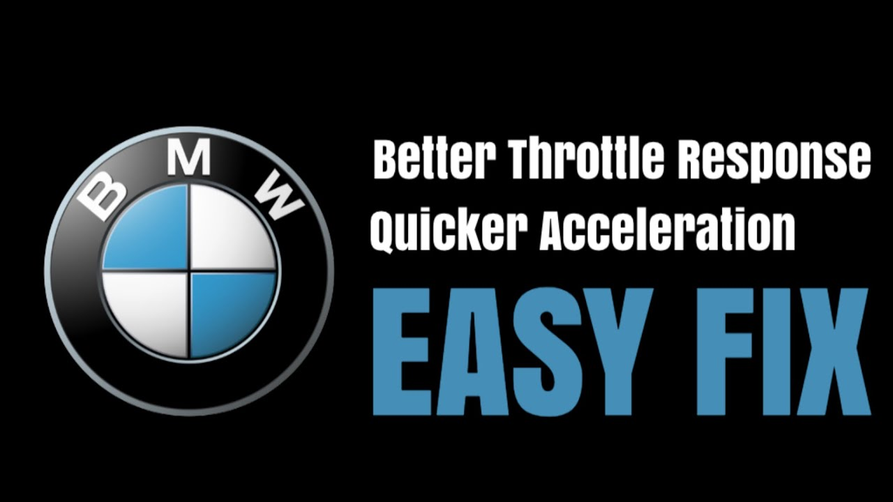 How To Reset Throttle Body Sensor On A BMW E60 / E61 Auto For Better  Response & Acceleration