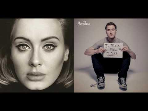 "Adele VS Mike Posner - I Said ""Hello"" In Ibiza (Mashup)"
