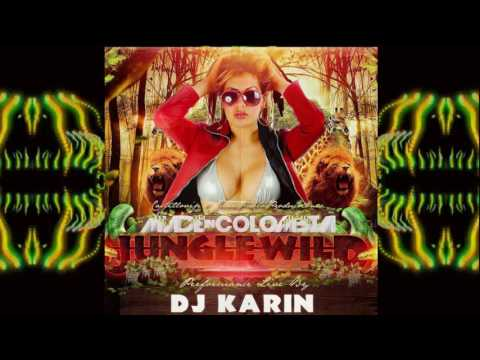 Made in Colombia jungle wild edition electronic live session #DjKarinColombia