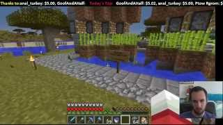 Livestream -- MindCrack Server: Building the Glue Factory and Super Mario World Speedruns