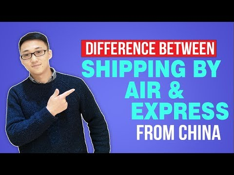 Difference Between Shipping By Air & Express From China