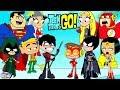 Teen Titans Go! Color Swap Transforms Raven Batman Aquaman Surprise Egg and Toy Collector SETC